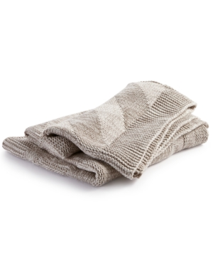 Hotel Collection Marled Knit Throw Created for Macys Bedding
