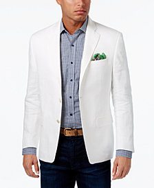 CLOSEOUT! Lauren Ralph Lauren Men's Big & Tall Classic-Fit Ultra-Flex Solid Linen Sport Coat