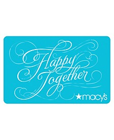 Happy Together E-Gift Card