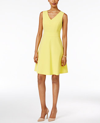 Nine West Fit & Flare Dress
