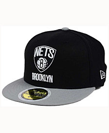 New Era Kids' Brooklyn Nets 2-Tone Team 59FIFTY Cap