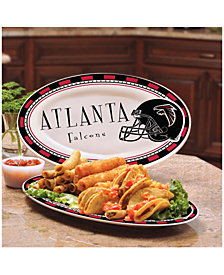 Memory Company Atlanta Falcons Ceramic Platter