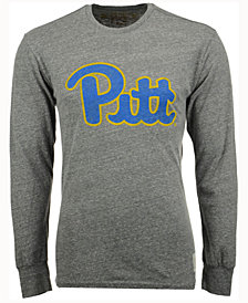 Retro Brand Men's Pittsburgh Panthers Tri-Blend Long Sleeve T-Shirt