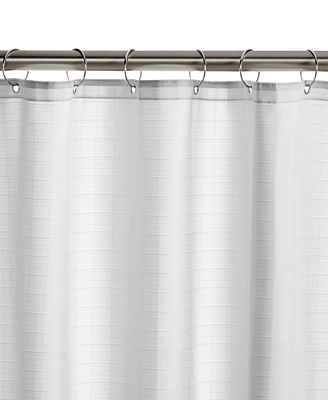 charter club classic dual tech shower curtain liner, only at