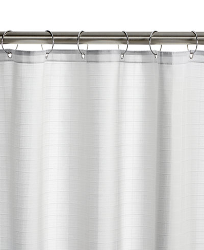 Charter Club Classic Dual Tech Shower Curtain Liner, Only at ...
