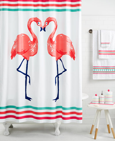 CLOSEOUT! Whim by Martha Stewart Collection Flamingo Kiss Bath Collection, Created for Macy's