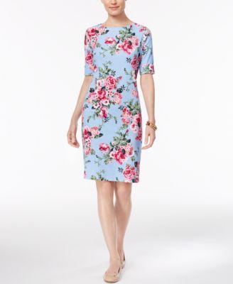 Karen Scott T-Shirt Dress, Created for Macy\'s - Women - Macy\'s