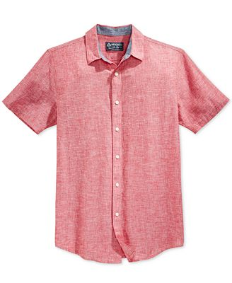 American Rag Men's Chambray Shirt, Created for Macy's