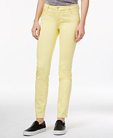 Celebrity Pink Juniors' Jayden Colored Wash Skinny Jeans