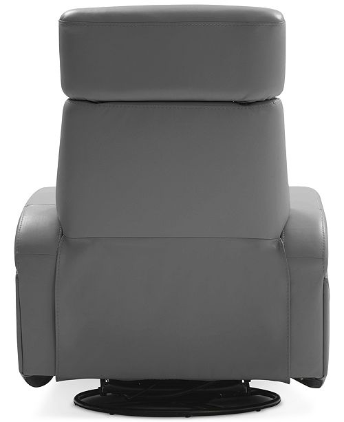 Excellent Dasia Leather Swivel Rocker Power Recliner With Articulating Headrest And Usb Power Outlet Pabps2019 Chair Design Images Pabps2019Com