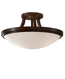 Perry Collection Semi Flush Ceiling Fixture