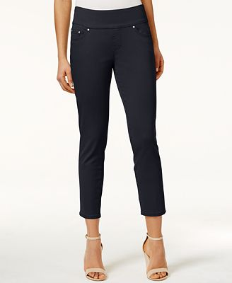JAG Petite Amelia Pull-On Ankle Skinny Pants
