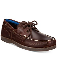Men's Piper Cove Leather Boat Shoes