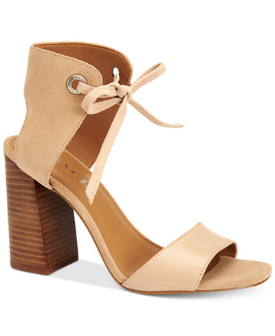 COACH Madison Two-Piece Block-Heel Sandals