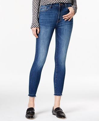 DL 1961 Chrissy Incognito Wash High-Rise Skinny Jeans