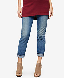 Citizens of Humanity Maternity Light-Wash Cropped Jeans