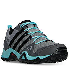 adidas Women's Terrex AX2R Outdoor Sneakers from Finish Line