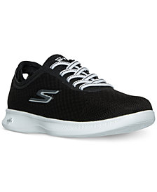 Skechers Women's Go Step Lite - Temptation Wide Walking Sneakers from Finish Line