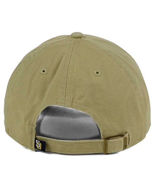 new arrival d1073 7222f ... discount code for 47 brand san diego padres khaki clean up cap 8e665  be553