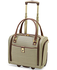 "London Fog Oxford Hyperlight 15"" Wheeled Under-Seat Bag, Created for Macy's"