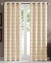 Madison Park Verona Lined Chenille Window Panel Collection