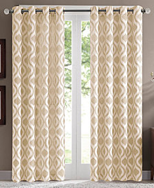 "Madison Park Verona 52"" x 95"" Lined Chenille Window Panel"
