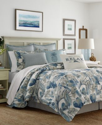 Raw Coast Cotton Queen 3-Pc. Duvet Cover Set