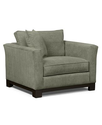 kenton fabric living room chair - furniture - macy's