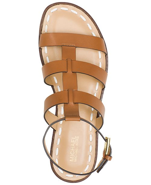 49c4333cb4b Michael Kors Fallon Gladiator Flat Sandals   Reviews - Sandals ...