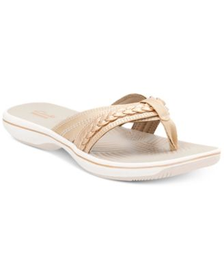 Image of Clarks Collection Women's Brinkley Nora Flip-Flops