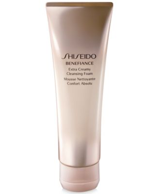 Image of Shiseido Benefiance Extra Creamy Cleansing Foam 4.4 oz.