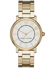 Marc Jacobs Women's Roxy Gold-Tone Stainless Steel Bracelet Watch 36mm