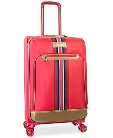 """CLOSEOUT! Tommy Hilfiger Freeport 25"""" Expandable Spinner Suitcase, Created for Macy's"""