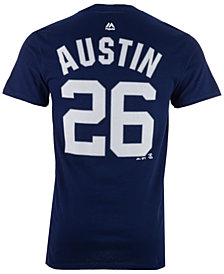 Majestic Men's Tyler Austin New York Yankees Official Player T-Shirt