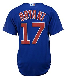 Majestic  Kris Bryant Chicago Cubs Player Replica CB Jersey, Big Boys (8-20)