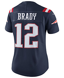 Nike Women's Tom Brady New England Patriots Color Rush Limited Jersey