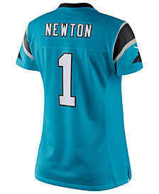Nike Women's Cam Newton Carolina Panthers Color Rush Limited Jersey