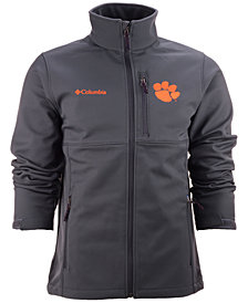 Columbia Men's Clemson Tigers Ascender Softshell Jacket