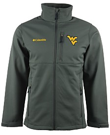 Columbia Men's West Virginia Mountaineers Ascender Softshell Jacket
