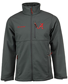 Columbia Men's Alabama Crimson Tide Ascender Softshell Jacket