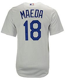 Majestic  Kenta Maeda Los Angeles Dodgers Player Replica CB Jersey, Big Boys (8-20)