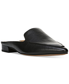 Franco Sarto Sela Pointed Toe Slip-On Loafer Mules