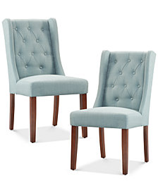 Neya Set of 2 Dining Chairs, Quick Ship