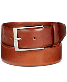Hugo Boss Men's C-Gerron Leather Belt