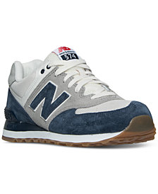 New Balance Men's 574 Retro Sport Casual Sneakers from Finish Line