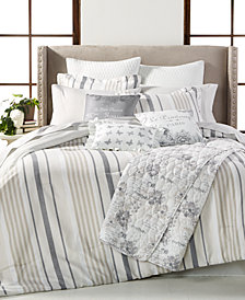 CLOSEOUT! Canberra Reversible 14-Pc. Comforter Sets