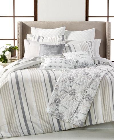 Canberra Reversible 14-Pc. Queen Comforter Set