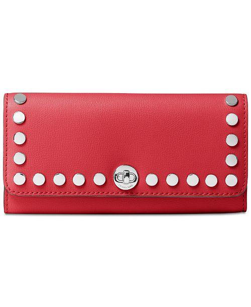 716057886c1ca5 Michael Kors Rivington Stud Large Wallet & Reviews - Handbags ...