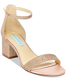 Betsey Johnson Miri Evening Sandals, Created for Macy's