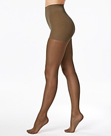 Women's   Perfect Nudes Run Resistant  Girl-Short Tummy-Control Pantyhose Sheers